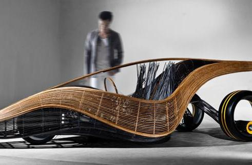 Inhabitat's Week In Green: Google's new car, ice walls and the future of bamboo
