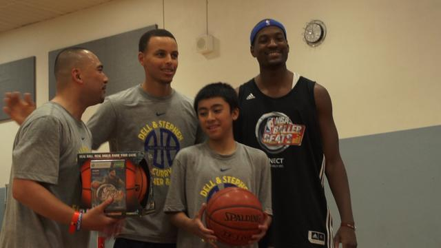 Stephen Curry Camp and NBA Baller Beats