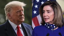 Nancy Pelosi tells Trump to 'man up' and admit he lost election to Joe Biden