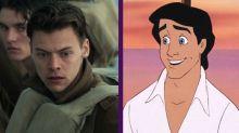 El cantante Harry Styles podría interpretar a Eric en La Sirenita (aunque el príncipe no canta en la película)
