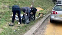 Fly-tippers caught by police and escorted back five miles to pick up their rubbish