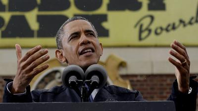 Obama: Jersey Shore Is Back in Business