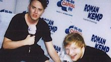 Ed Sheeran tattoos Roman Kemp – and makes a HUGE mistake