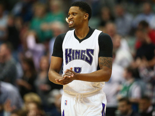 Rudy Gay is headed to the Spurs. (Getty)