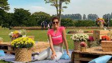 Deborah Secco recebe alta de hospital em São Paulo após 4 dias de internação