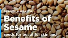 Here are some awesome benefits of sesame seeds for skin & health