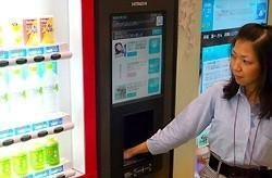 Hitachi develops biometric payment system, uses it to sell junk food