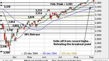 Charting a market downdraft, S&P 500 sells off to major support
