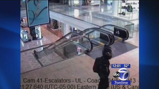 Video released of mall gunman