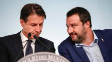 The Latest: Italian spat on budget points to government rift