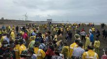 大潭電廠淨灘活動 還給乾淨環境