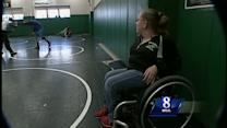 Central Dauphin wrestler's sister is his biggest fan