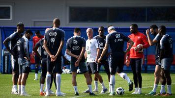 Griezmann, Umtiti et Lemar à l'écart du groupe à l'entraînement
