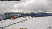 Late September snow hits top of Whistler peaks
