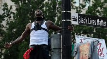 'Time for a change': Anti-racism protesters march across US