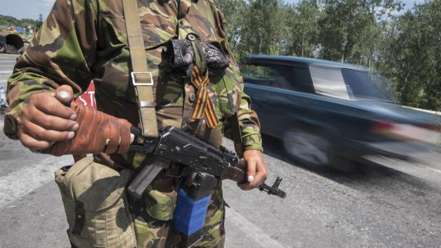 Ukraine, Separatists Battle To Control Border With Russia