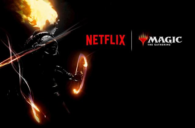 Netflix is working on a 'Magic: The Gathering' anime series