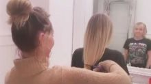 Miley Cyrus Shows Off Her New Modern Mullet After Mom Tish Cuts Her Hair With Kitchen Scissors