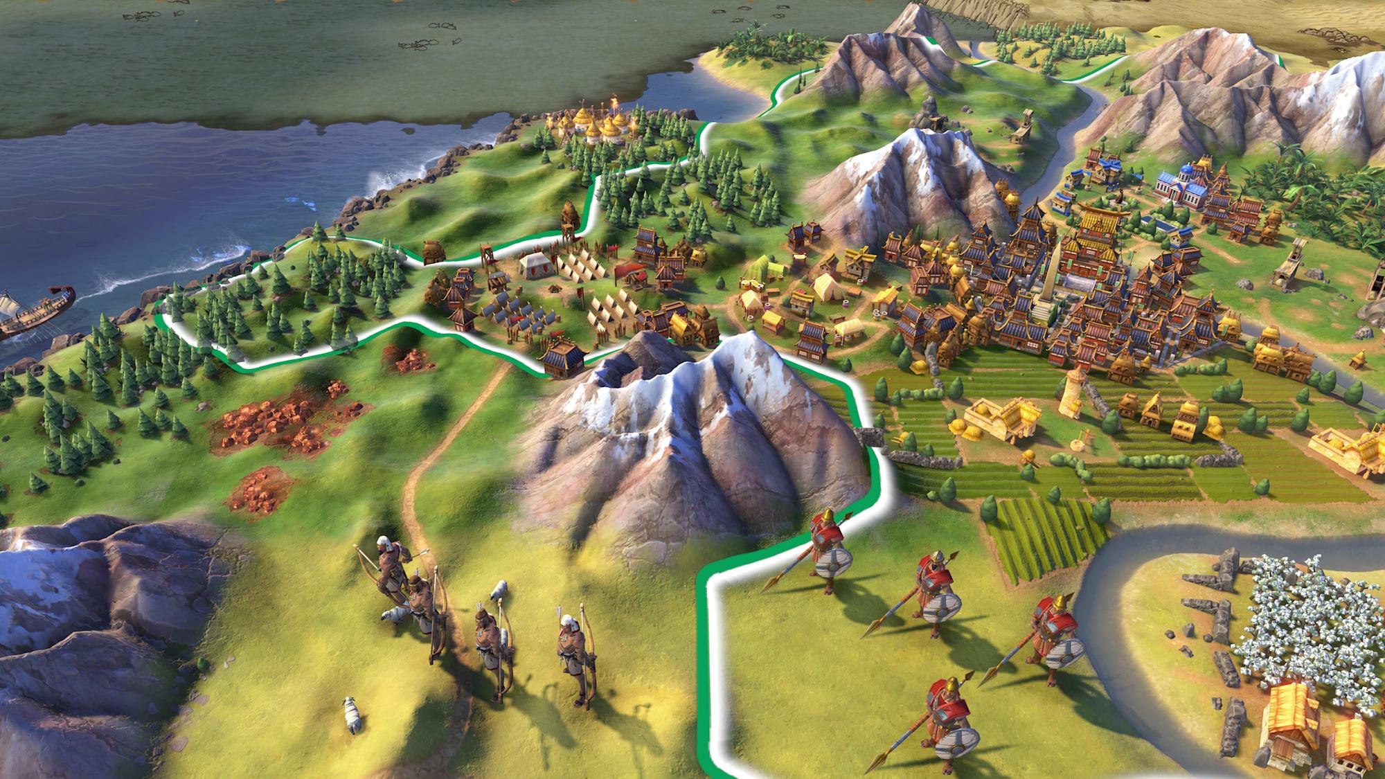 Civilization VI is this week's free game Mega Sale under way on the Epic Games Store - Engadget 日本版