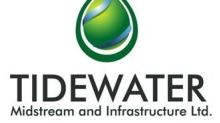 Tidewater Midstream and Infrastructure Ltd. Announces Third Quarter 2018 Results and Operational Update