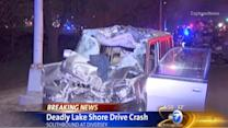 North Chicago police officer arrested in Lake Shore Drive wrong-way crash