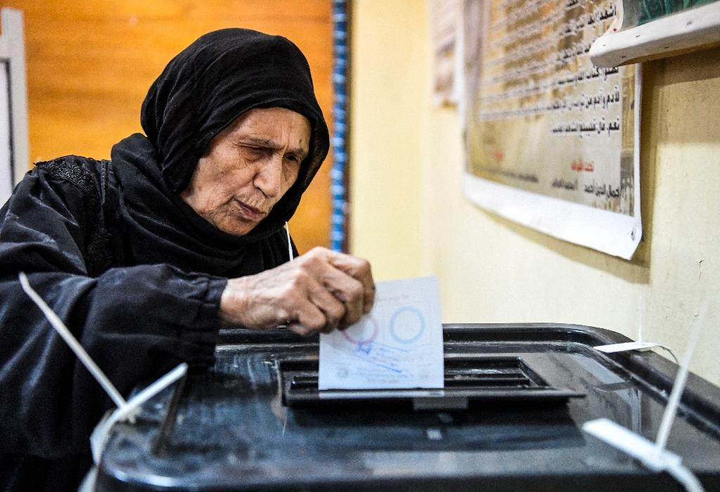 The three-day plebiscite is expected to approve sweeping constitutional changes that will extend President Abdel Fattaj al-Sisi's rule of the Arab world's most populous country until at least 2024 (AFP Photo/Khaled DESOUKI)