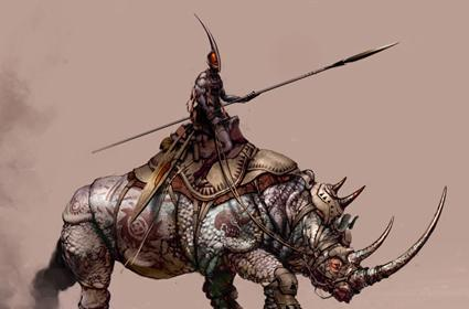 Age of Conan artwork for your drooling pleasure