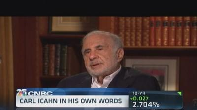 Carl Icahn says he 'may be too obsessed'