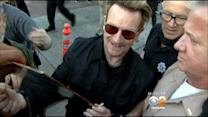 U2 Gives Lucky Fans Free 'Surprise' Show At The Roxy