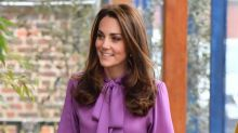 Kate Middleton wears chic £800 Gucci blouse to visit Henry Fawcett Children's Centre