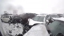 Wisconsin Sheriff's Office Shares New Footage of February's Deadly 119-Car Pile-Up