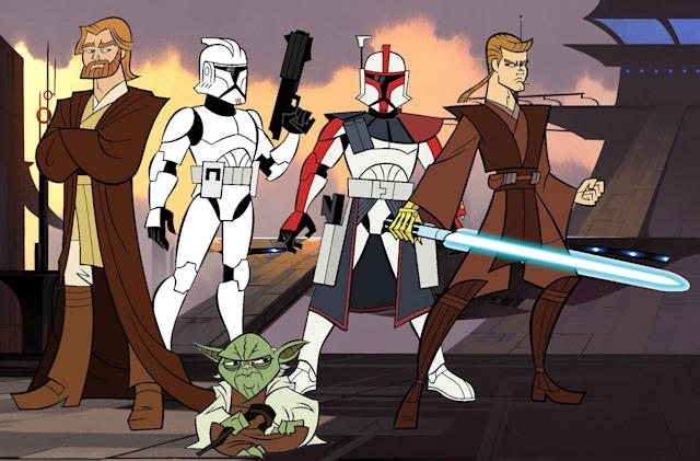The original 'Star Wars: Clone Wars' and 'Ewoks' are coming to Disney+