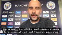 """Huitièmes - Guardiola pique l'orgueil de ses joueurs : """"Ils étaient assis devant leur télévision pour regarder le Real jouer les dernières finales"""""""