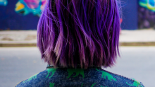 The Coolest Purple Hair In The World (Seriously)