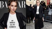 無論你是不是女權主義者,都應該關注一下這件有態度的 Dior T-shirt!