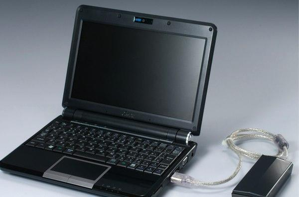 Buffalo's external 32GB and 64GB SSDs can swap insides with your Eee PC's original drive