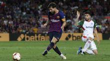 La picardía de Messi guía triunfo del Barcelona ante Alavés