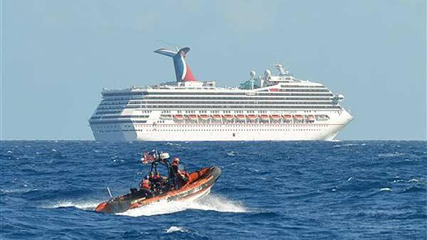 Change of plans for stranded cruise ship