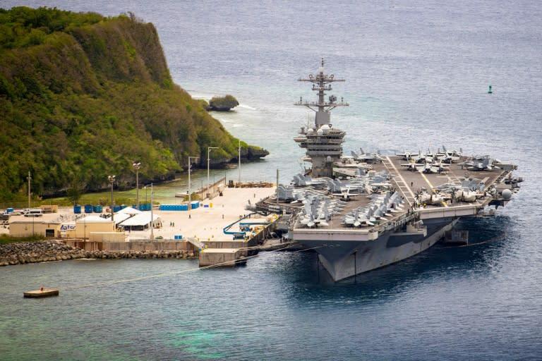 Eyeing China, Pentagon plans larger, 'more lethal' navy