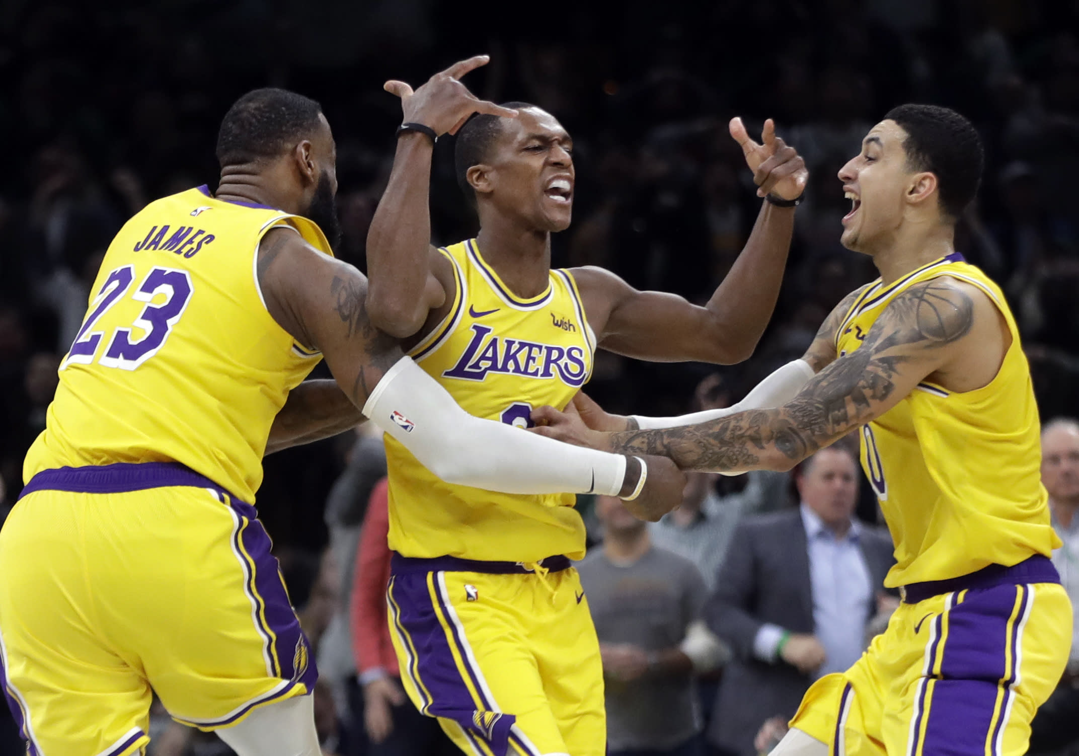 4f773c21ba6 Rajon Rondo helps Lakers forget Anthony Davis (for now)