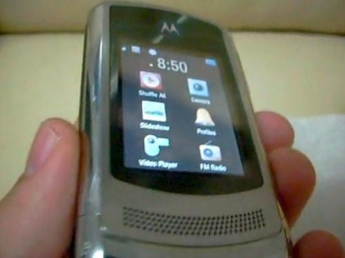 Motorola RAZR3 comes back from the dead for a very special hands-on video