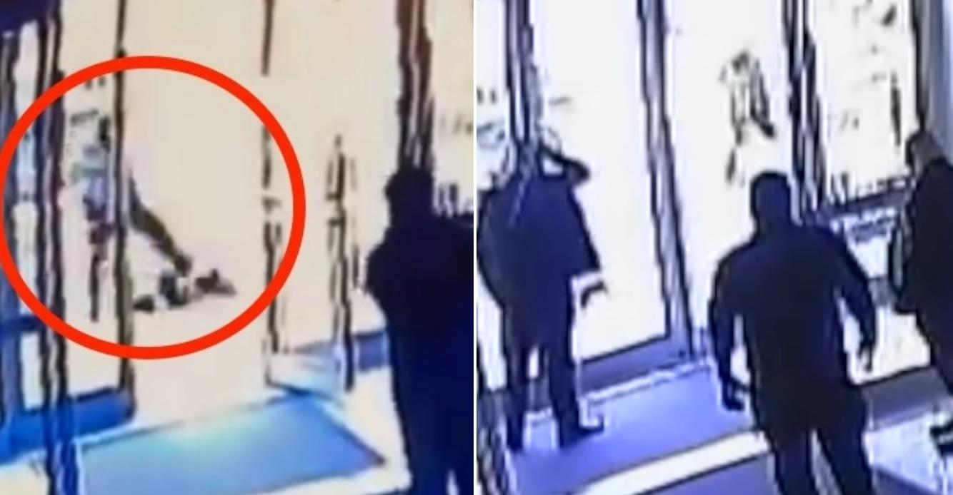 Two doormen in New York fired for shutting the doors while an Asian woman was attacked