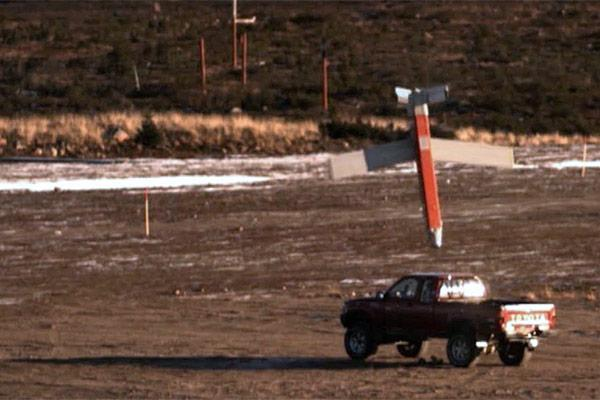 Fire Shadow missile can remain aloft for six hours before obliterating a moving target (video)