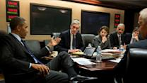 Obama meets with advisers in WH situation room