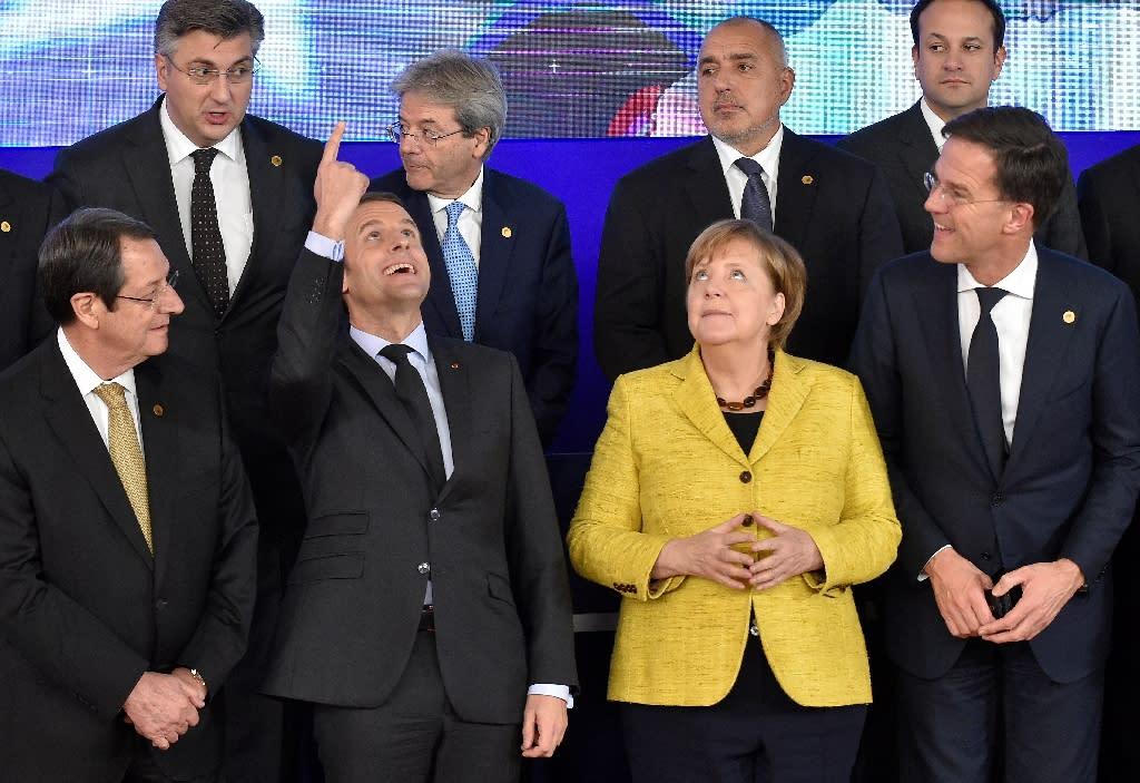 The idea of a European finance minister still seems like a pie in the sky (AFP Photo/JOHN THYS)