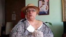 Mamma Bruschetta é socorrida por bombeiros após acidente doméstico