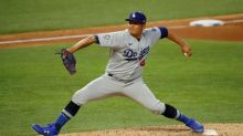Dodgers set NL homer mark for month at 57, beat Rangers 7-2