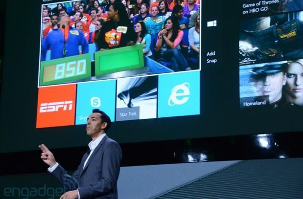 Xbox One runs three operating systems, including cut-down Windows for apps