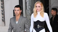Sophie Turner and Joe Jonas Were a Sharply-Dressed Couple En Route to the 2019 MTV VMAs