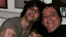 Fábio Jr. se reúne com Fiuk e o caçula Záion: 'Papis feliz'